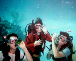 Now I know why my kids really like scuba diving! Nikonos... by Michael Canzoniero