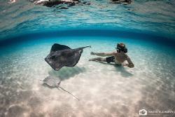 Playing with Rays by Nadya Kulagina