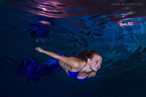 Mermaid Senior Pictures by Ken Kiefer