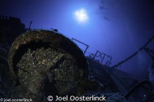 wreck near St Leu by Joel Oosterlinck