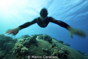 Apnea on Precontinente II by Marco Caraceni