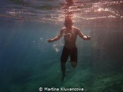 bubble ring by Martina Kluvancova