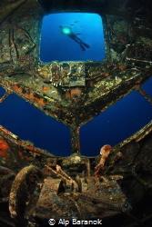 Dakota C-47 airplane wreck Bodrum/Turkey by Alp Baranok