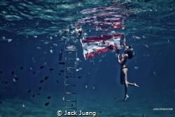 Shoot at Bora Bora by Jack Juang