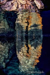 Reflex in the Isca Cave by Marco Gargiulo