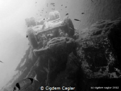 Zenobia wreck by Cigdem Caglar