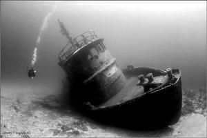 Tugboat La Lemon by Dmitry Vinogradov