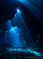 This image was captured in the caverns of St John's Reef ... by Gabriel De Leon Jr