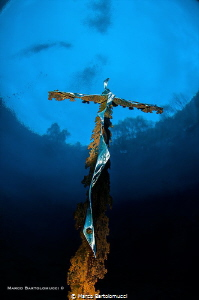 THE POSTA FIBRENO LAKE CROSS by Marco Bartolomucci