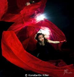 Lady in red by Konstantin Killer