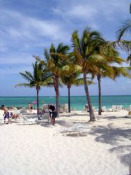 Port Lucaya beach on a beautiful sunny day by Kelly N. Saunders