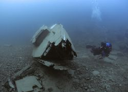 Wreck & photographer.