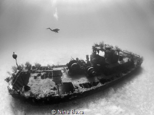 Wreck of the Doc Poulson. by Nina Baxa