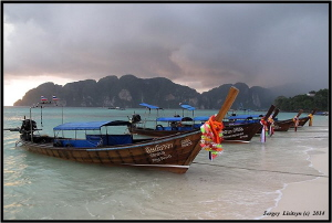 Koh Phi Phi 2014 by Sergey Lisitsyn