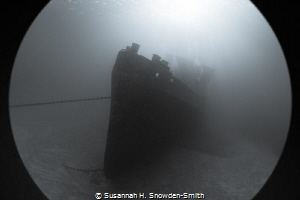 """""""Ghost Ship"""" Used a port extension ring with my fisheye ... by Susannah H. Snowden-Smith"""