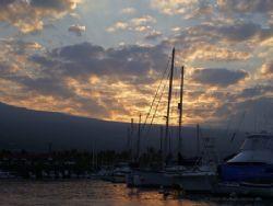 Gentle Awakening, Kailua Kona, HI, leaving the Honokohau ... by Michele Jarvis