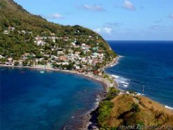 This photo is of Scott's Head Point in DOminica. It is a ... by Zaid Fadul