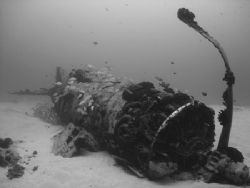 'The Corsair' - Plane wreck off south-eastern shore of Oa... by Jeffrey M Owen