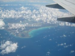 The view of the islands from far above.... by Kelly N. Saunders