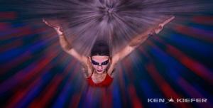 Butterfly disco by Ken Kiefer
