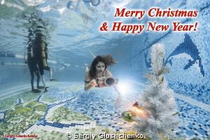Merry Christmas and Happy New Year 2015! by Sergiy Glushchenko