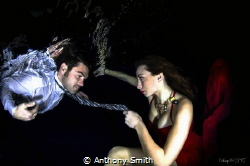 very first underwater fashion shooting by Anthony Smith