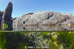 The tidal pool by Peet J Van Eeden