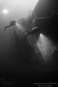 Oldenburg WW2 wreck by Rene B. Andersen