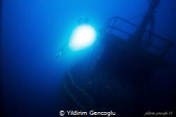 Coast Guard 114 wreck by Yildirim Gencoglu