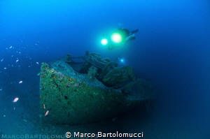 WWII German Wreck by Marco Bartolomucci
