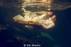 Underwater Dream in Mexico by Erik Shenko