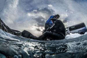coming back to the surface (lake Baïkal) by Mathieu Foulquié