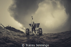 Hurry up .. a storm is coming by Tracey Jennings