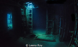 Inside the Kittiwake by Leena Roy