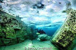 I've shot this images in Tobermory Ontario under ice next... by Jerzy Kowalczuk