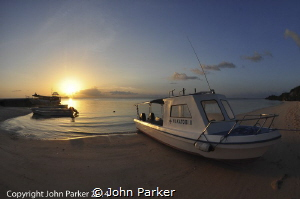 Sunset at Wakatobi by John Parker