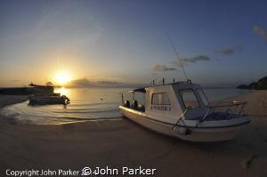 Sunset at Wakatobi by John Parker