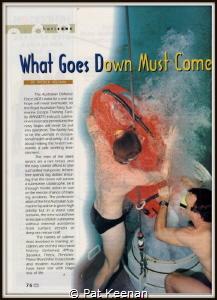 Lead page of Asian Diver magazine describing Royal Austra... by Pat Keenan