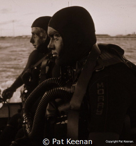 'Almost Underwater'- Royal Australian Navy Clearance Dive... by Pat Keenan