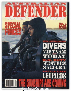 Front cover of Australian magazine showing previous entry... by Pat Keenan