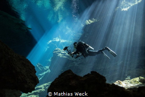 Mexico - Cenotes - Chac Mool by Mathias Weck