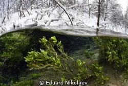 Winter Split / Russia, Green key by Eduard Nikolaev