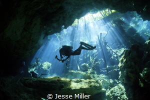 First Cenotes Dive! by Jesse Miller