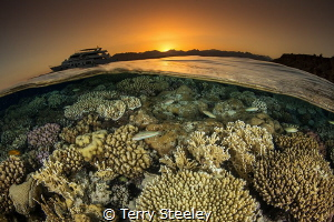 'Sunset split'