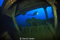 Reggio Messina wreck in Montgrí coast, near Medes Islands by David Carbo