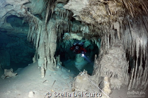 Caracol Cave, Quintana Roo, Mexico by Stella Del Curto