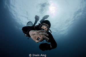 Model of the day Diver Puerto Galera, Philippines. Octo... by Irwin Ang