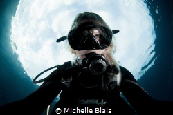 Woman In The Moon by Michelle Blais