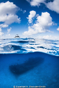 Wreck of the Doc Polson. If you look closely, you can se... by Susannah H. Snowden-Smith