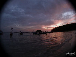 Sunset shore dive at Kata Beach, Phuket. by Kf Leong
